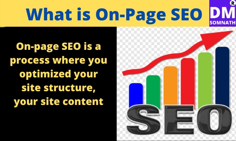 What is on-page SEO/ On-site SEO?